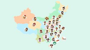 China Tour Map - ChineseWishes
