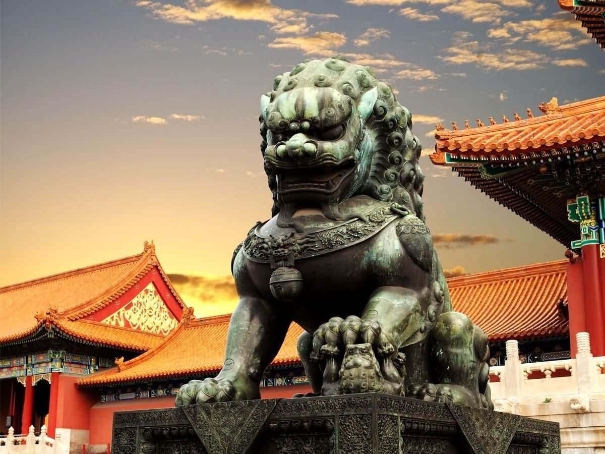 Stone Lion - China Tours