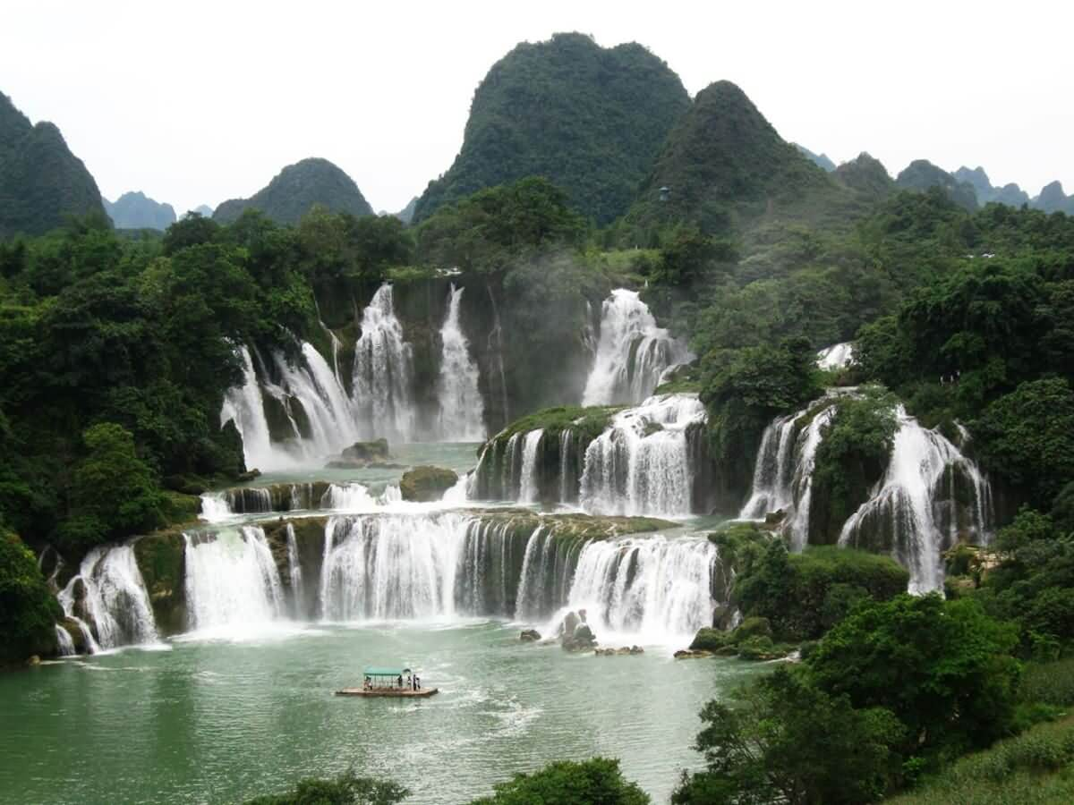Detian Waterfall - ChineseWishes