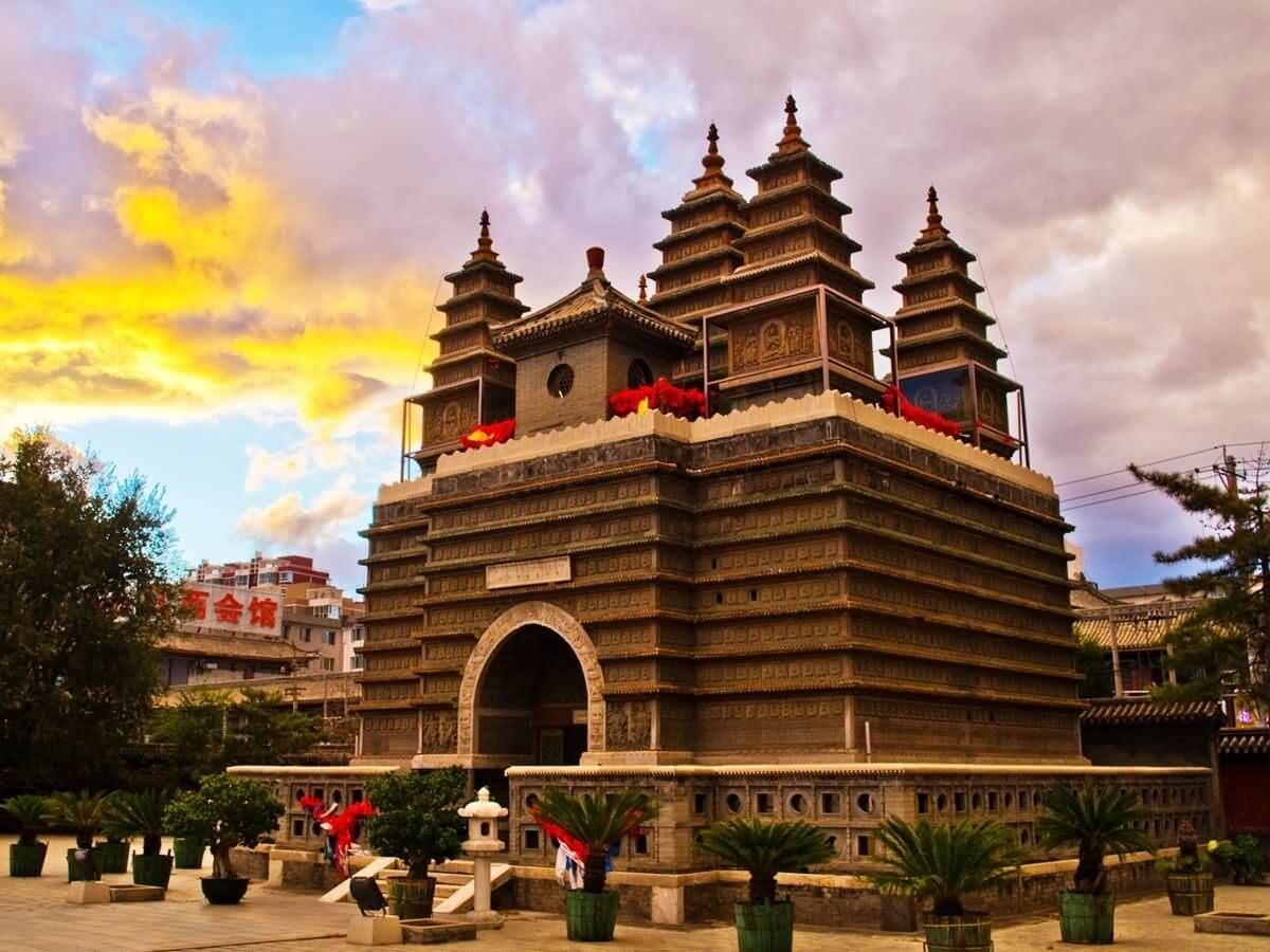 Five Pagoda Temple - China Tours