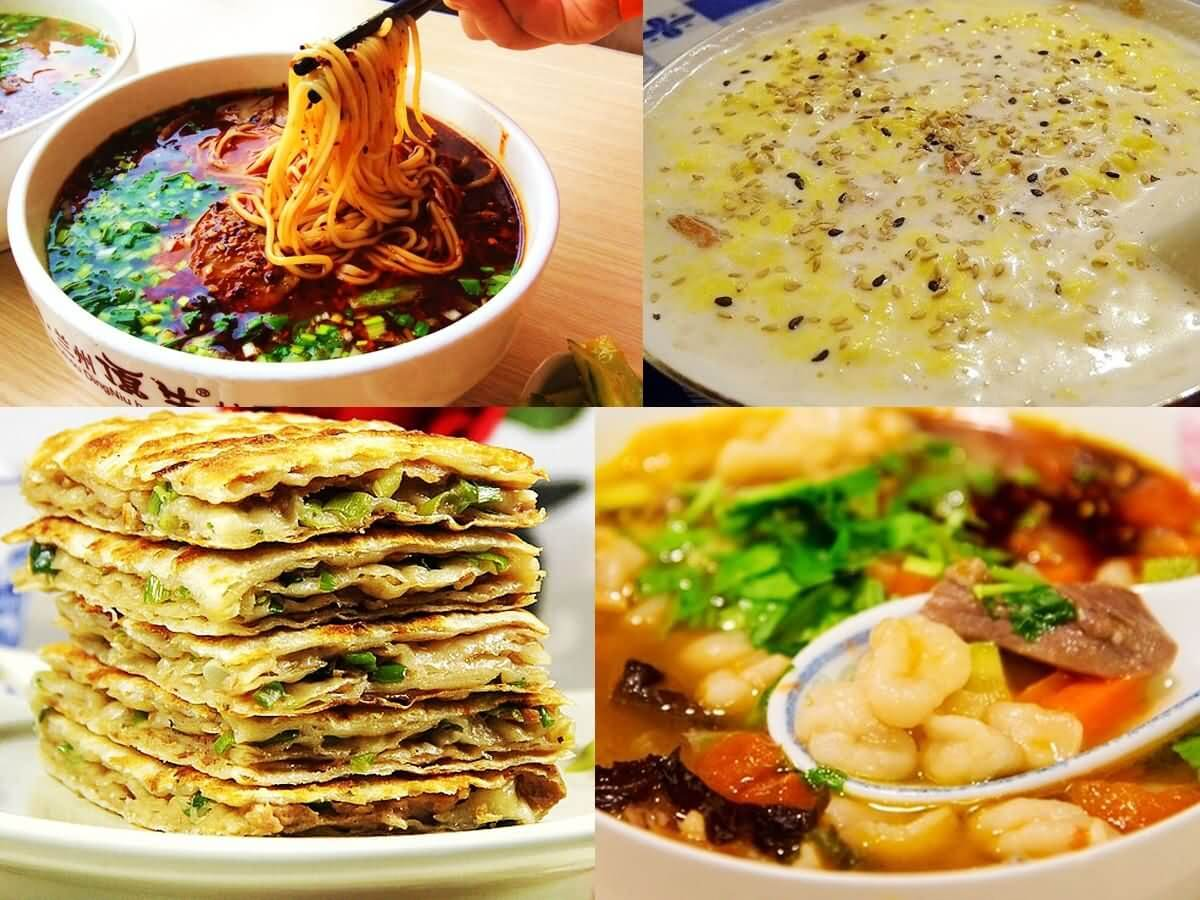 Gansu food - China Tours