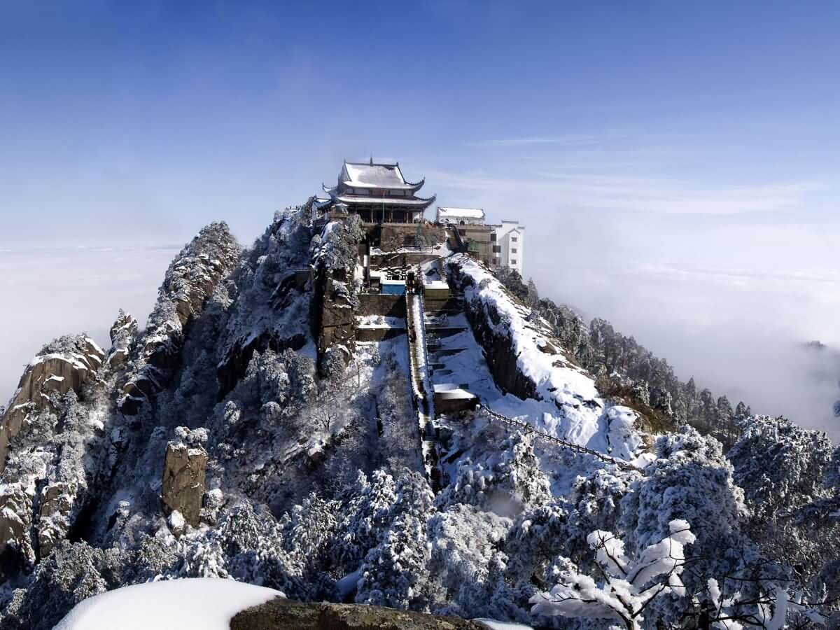 Jiuhua Mount - China Tours
